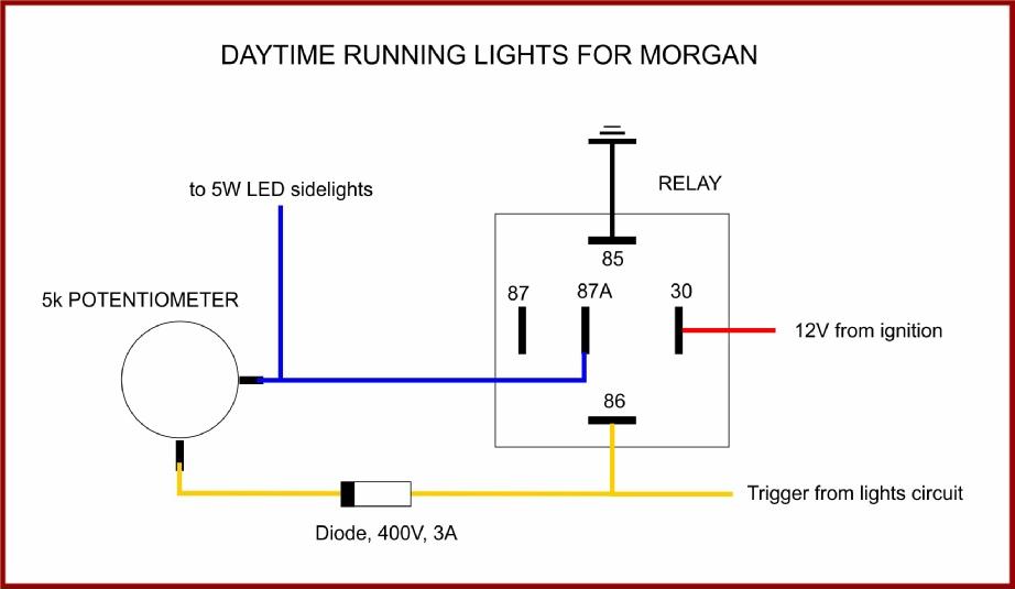 Wiring Diagram For Led Daytime Running Lights border=